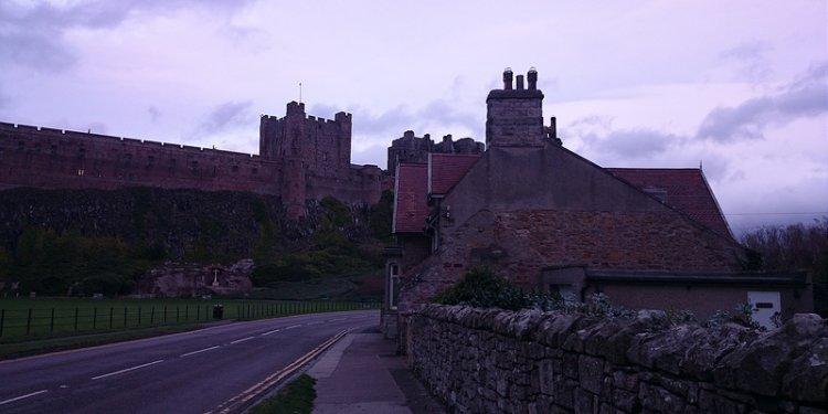 Bamburgh Castle, England
