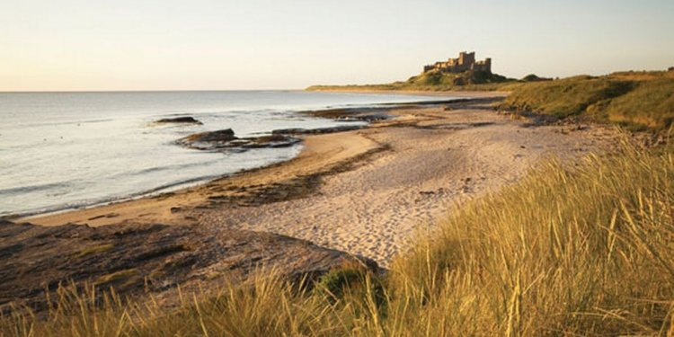 Bamburgh Castle voted a top 10
