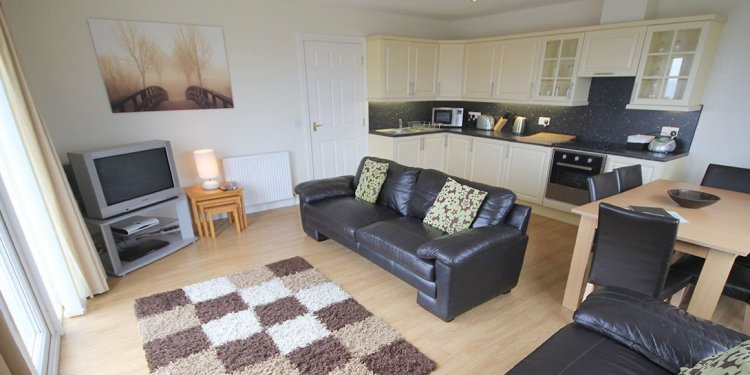 The open plan living