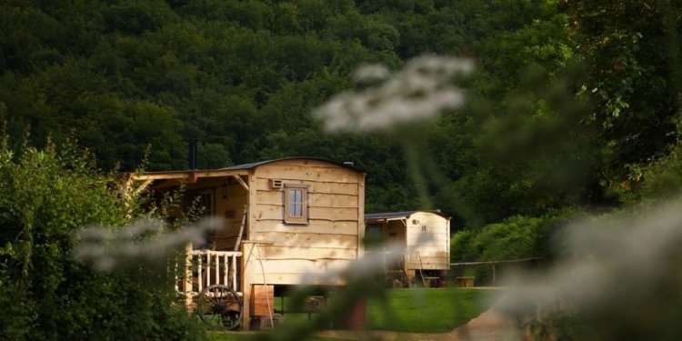 Glamping in england original
