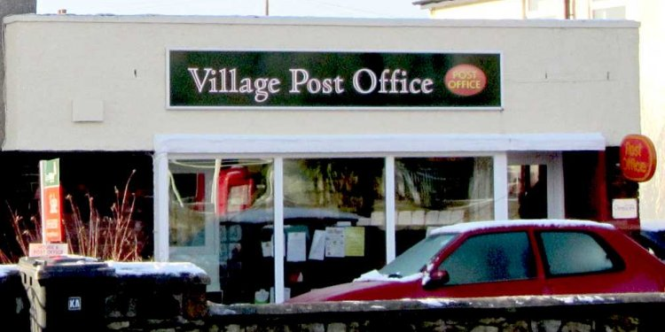 The actual Post Office