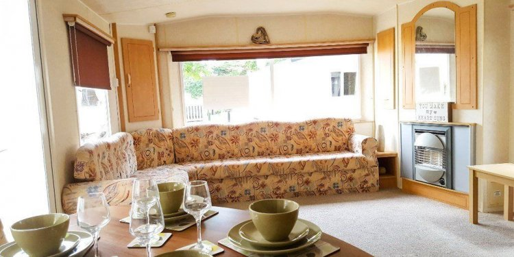2 BEDROOMED STATIC CARAVAN