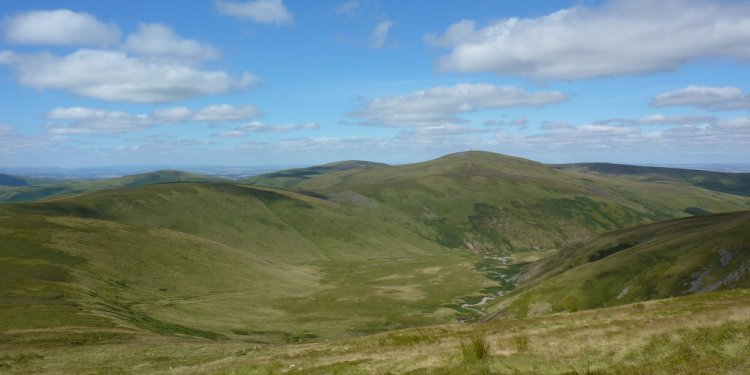 The College Valley and The Schil
