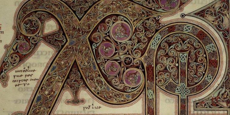 Lindisfarne Gospels Inspired