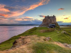 Holy Island Northumberland coast