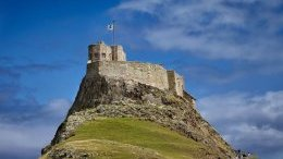 Lindisfarne Castle in Northumberland