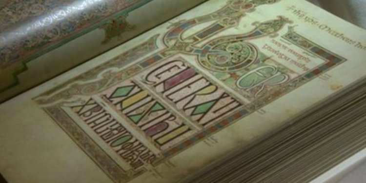 Lindisfarne Gospels British Library