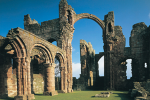Lindisfarne Priory upon Holy Island
