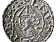 Silver cent of Cnut (Canute)
