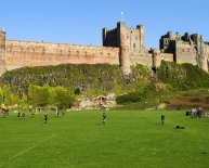 Bamburgh Castle photos